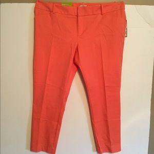 NWT Merona Coral Trousers